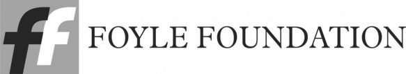 The Foyle Foundation Logo in grayscale